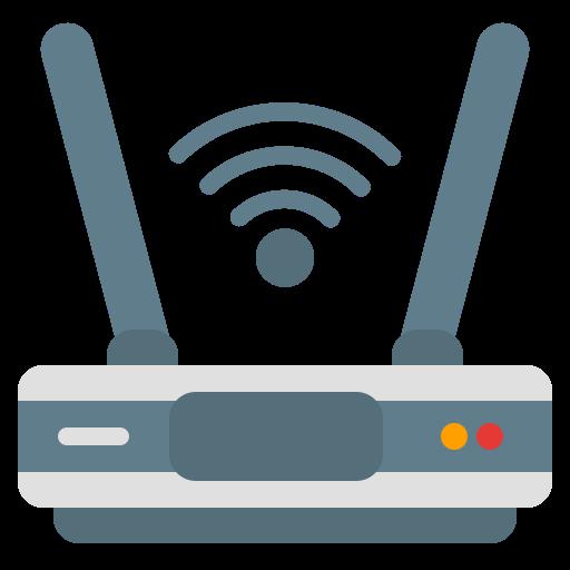 icono de un modem, repetidor wiifi icono